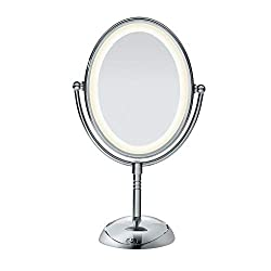 A Lighted Makeup Mirror Must Show How You Really Look