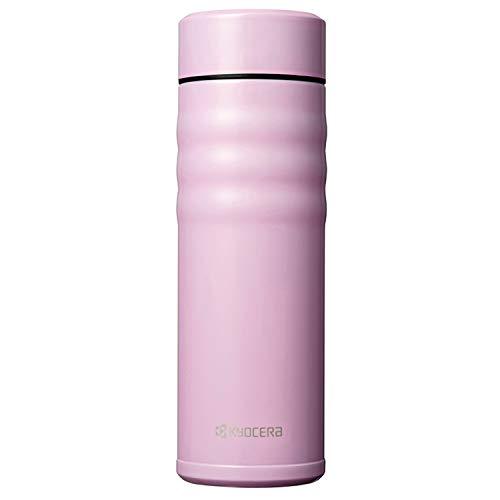 Kyocera Twist Top-Thermoflasche, Pink, 500 ml Botella térmica, Acero Inoxidable