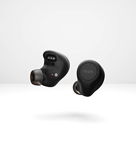 RHA TrueControl ANC True Wireless In-Ear-Kopfhörer mit Charging Case Schwarz