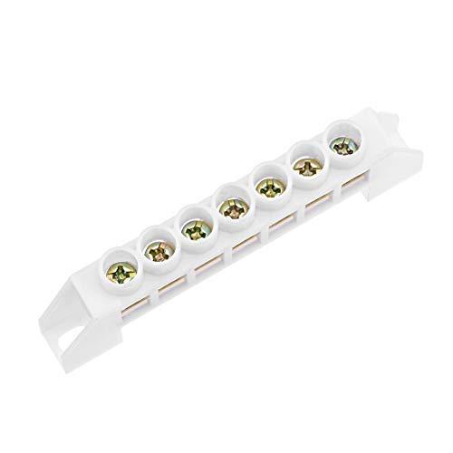 Tornillos de cobre con 7 posiciones, para bornes de conexión, conector único,...