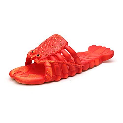 Todidafa - Pantuflas de playa universales con cierre de suela suave, para padres e hijos, zapatos de pareja personalizados, zapatos casuales