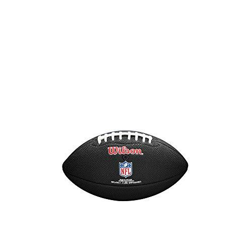 Wilson Sporting Goods NFL Los Angeles Rams Team Logo Football, Black, Mini Size