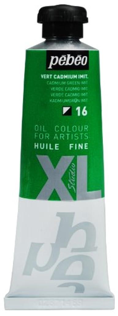 Pebeo 937016 Studio Xl Fine Oil 37-Milliliter, Cadmium Green Hue