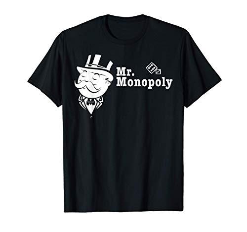 Monopoly Mr. Monopoly Portrait Camiseta