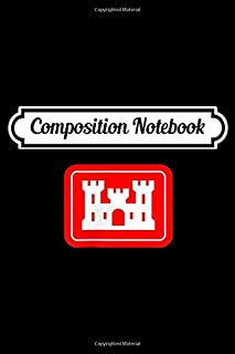 Composition Notebook: United States Army Corps of Engineers DOD Military  Journal/Notebook Blank Lined Ruled 6x9 100 Pages