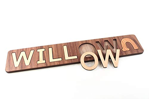 Personalized and Customizable Wooden...