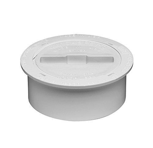 Oatey 43733 PVC Snap-In Cleanout Assembly, 4-Inch by Oatey