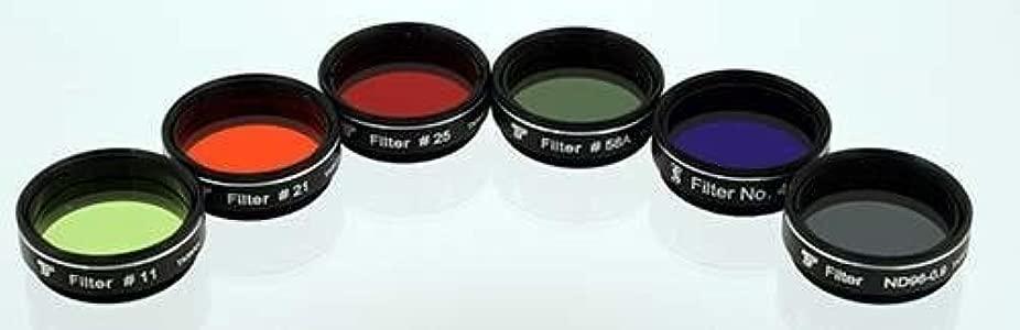 TS-Optics 1 25  colour filter set colours neutral density grey filter ...