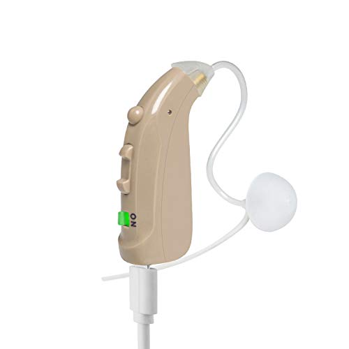 Banglijian Hearing Amplifier Rechargeable Personal Sound Amplifier, Digital Noise Cancelling to Aid and Assist Hearing, Fit Both Ears, for Adults and Seniors