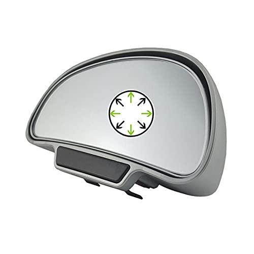 O45D KFZ Auto Toter Winkel Spiegel Außenspiegel Blindspiegel Fahrschulspiegel zusatzspiegel Auto, erleichtert das Rückwertsfahren und Einparken, Universal Winkel Spiegel (Silber Links)