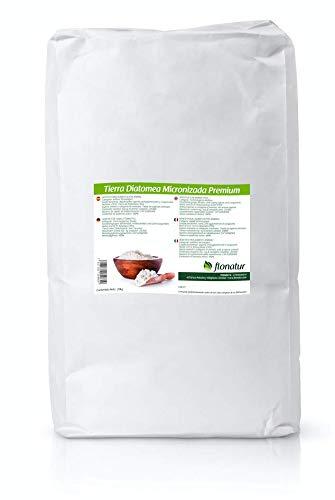 flonatur Tierra diatomea micronizada Natural 20kg, múltiples usos, Tratamiento eficaz contra Insectos y Fertilizante Natural (Micronizada, 20Kg)