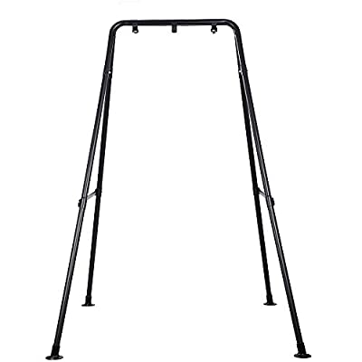 Taleco Gear Hammock Chair Stand,Heavy-Duty Steel Hammock Stand,Multi-Use Swing Chair with Stand for Outdoor Indoor