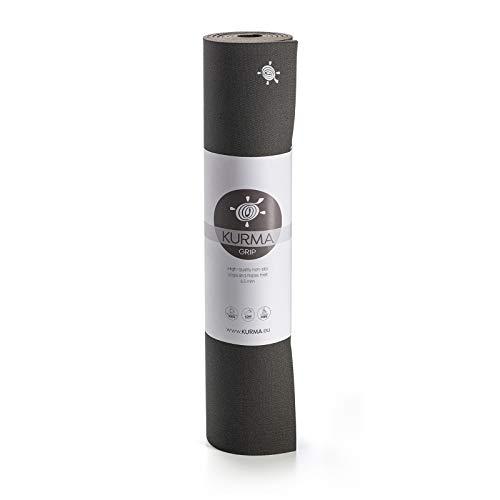 Yogamatte KURMA Black Grip, L: 200 cm/B: 66 cm/H: 0.65 cm