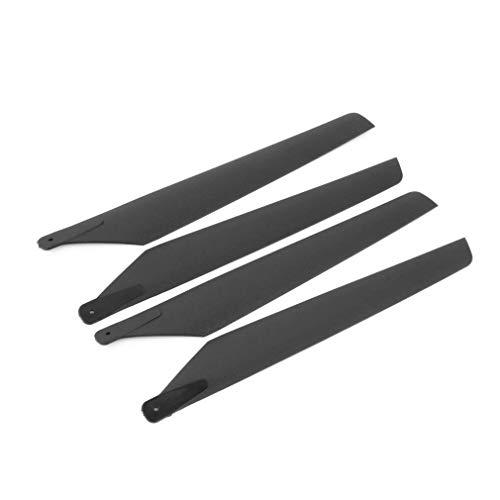 Yivibe Cuchillas Principales de plástico de 160mm / aptas para Esky Lama V3 V4 aptas para Walkera 5# 4 5-8 helicópteros RC Apache AH6 Juguetes de Control Remoto