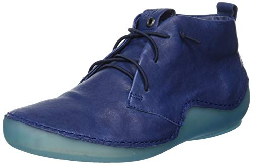 Think! Damen 686058_KAPSL Slipper, Blau (Indigo/Kombi 90), 38.5 EU