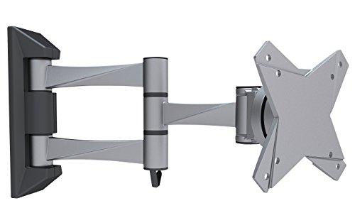 『テレビ 壁掛け 金具 STARPLATINUM 液晶 TV モニター 13-32インチ対応 TVセッターFS NA113 SSサイズ シルバー』の1枚目の画像