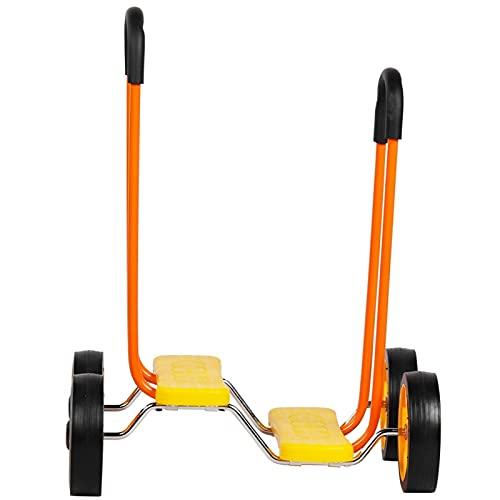 Okuyonic Bicicleta de Equilibrio de Scooter equilibrada única respetuosa con el Medio Ambiente para jardín de Infantes para niños