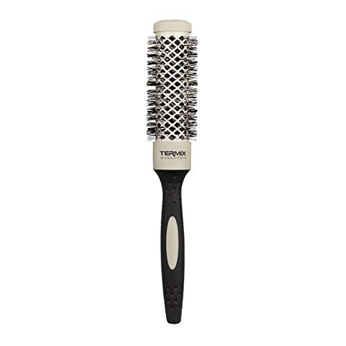 Termix Evolution Soft Ø28- Cepillo térmico redondo con fibras especialmente diseñadas para cabellos delicados. Disponible en 8 diámetros y en formato Pack.