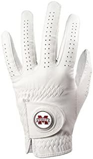 Mississippi State Bulldogs Golf Glove & Ball Marker - Left Hand - Medium