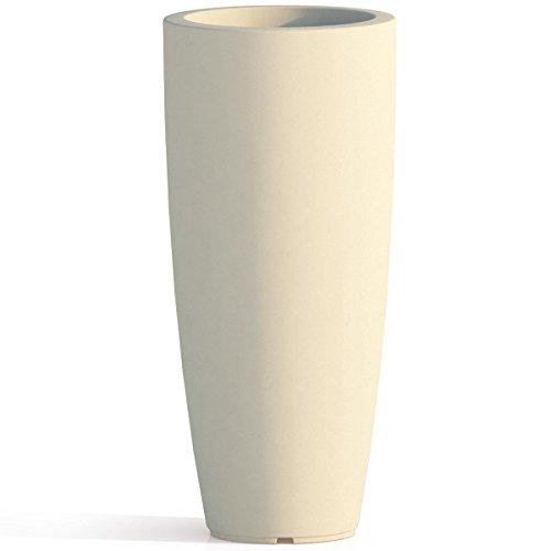 Tekcnoplast V0016 vaso, AVORIO, Ø 33 cm. -H 70 cm