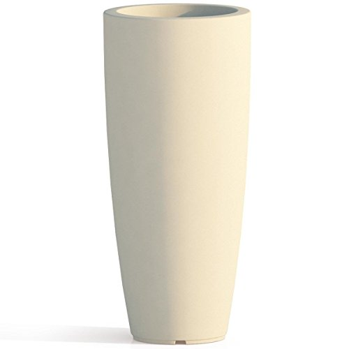 Tekcnoplast V0016 Vase, Elfenbein, Ø 33 cm. -H 70 cm