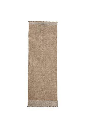 House Doctor Teppich, Shander, Grau, 200 cm x 90 cm