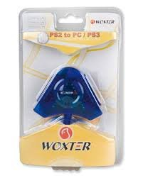 Adaptador de Mandos Woxter PS2 a PC/PS3