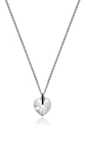 LIORA Kristall Herz-Halskette