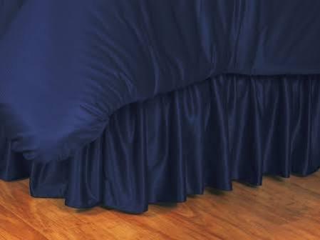 Sports Coverage NCAA Illinois Illini Bed Skirt, King, Midnight