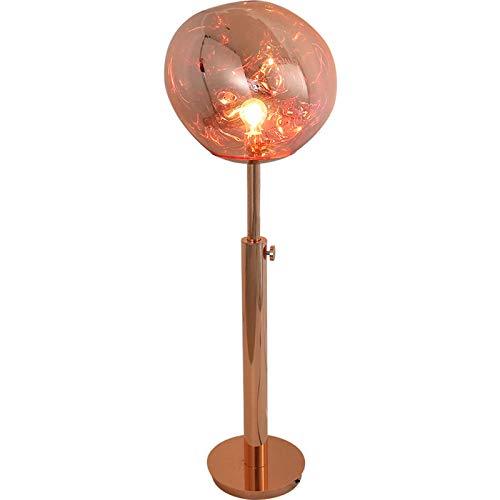 HTZ-M Lámpara De Pie De Lava, Lámpara De Piso Decorativa Moderna para Sala De Estar, Ajustable En Altura con Lava Irregular para Sala De Estar Dormitorio Lectura Oficina