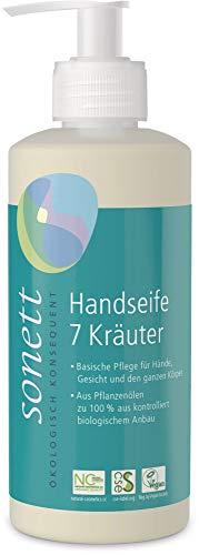 Sonett Bio Handseife 7 Kräuter (6 x 300 ml)