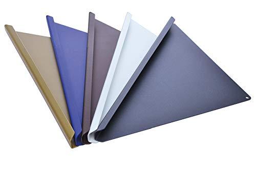 Typ Q 220-WE ABLAGO® Design - Befliesbare Duschablage Quado - weiß