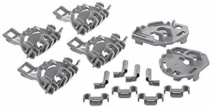 Soportes cojinete para cesta abatible SpareHome compatible con lavavajillas Bosch, Siemens, Balay y Neff