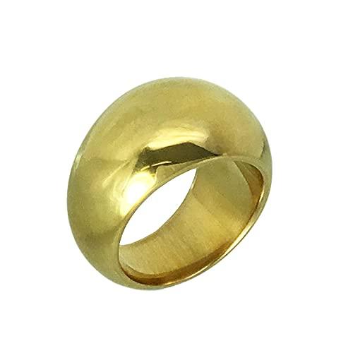 K18リング 月甲30g オーダー 結婚指輪 高密度 (22号)