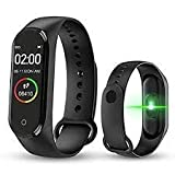 m4and Heart Rate Monitoring Designed with multi sport modes, real time heart rate monitor. Sedentary reminder, set it to remind you to walk or exercise after a long time sit. Sleep monitor, check sleep trend chart to view your sleep time and quality ...