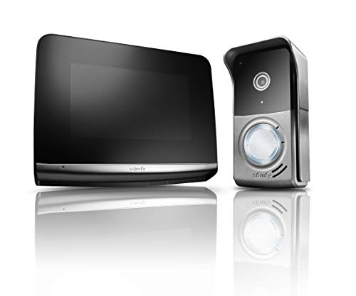Somfy Videosprechanlage V500 PRO iO PREMIUM Türsprechanlagen mit Touchscreen Display Modernem Design TaHoma kompatibel