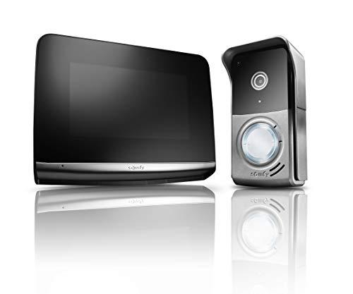 Somfy Videosprechanlage V500 PRO iO PREMIUM Türsprechanlagen mit Touchscreen Display Modernem Design TaHoma kompatibel