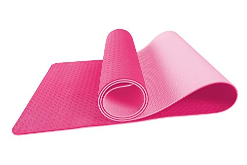 s.lemon TPE Tappetino Yoga,Professionale Antiscivolo Ecologico Tappetino per Pilates Fitness Esercizi Terra 183 x 61 x 0.6 CM Spesso