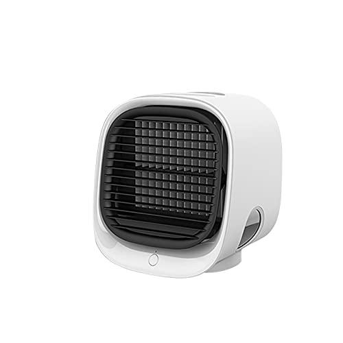Zilosconcy Klimagerät ohne Abluftschlauch Leise USB Mobile Klimaanlage mit Wassertank Luftkühler USB Tragbarer Spray Mini Klimageräte Ventilator