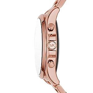 Michael Kors Access Bradshaw 2 Touchscreen Stainless Steel Smartwatch, Rose Gold tone-MKT5086