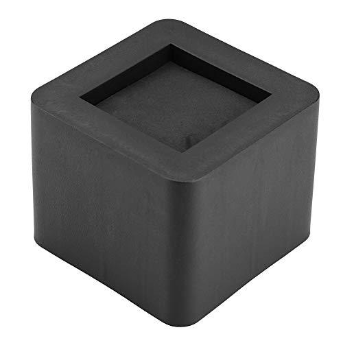 Y-M-H 4 PCS Conjunto Muebles Pierna Pierna PP PL PLÁSTICO ARRÁS DE PLÁSTICO para LA Tabla DE Mesa Sofa Color Negro