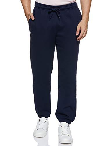 Lacoste - Pantalon de sport Homme - Bleu (Marine 166) - S (Taille fabricant: 3)