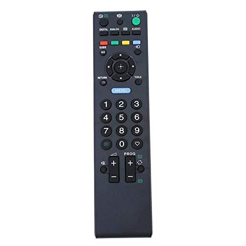 Control remoto de TV, nuevo controlador de televisión de repuesto, controlador de televisión de control remoto de Smart TV para Sony RM-ED017, rendimiento estable