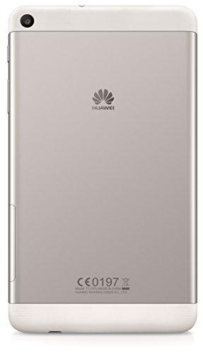 Huawei Mediapad T1 Tablet, 7 Pollici Qualcomm Snapdragon 410 Quad-Core 1.2GHz, 1GB RAM, Argento/Nero