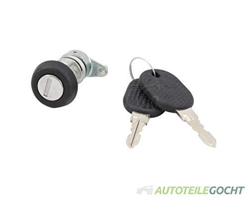Tür Schließzylinder m. Schlüssel Rechts für CITROEN JUMPER Bus + Kasten + Pritsche 94-02 von Autoteile Gocht