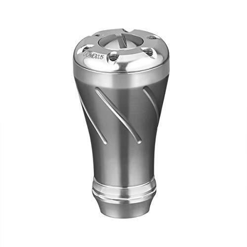 GOMEXUS Pomo Carrete para Shimano Stradic FL FK Daiwa Saltiga BJ Perilla Carretes de Pesca Spinning y Baitcasting Directo 20mm Metal