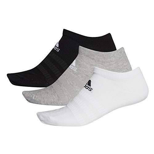 adidas Light Low 3Pp Calcetines, Unisex Adulto, brgrin/Blanco/Negro, M