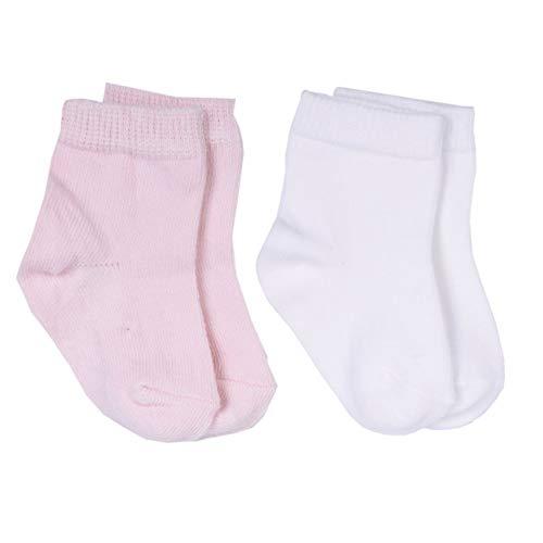 Sevira Kids - Chaussettes bébé en coton biologique (lot de 2 paires)
