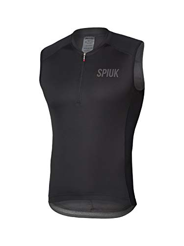 Spiuk Maillot S/M Indoor Hombre Negro T. XL