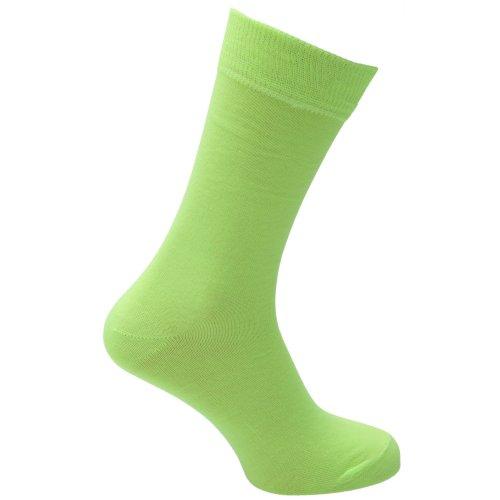 Universaltextilien Herren Socken in Neonfarben (39-46) (Neongelb)